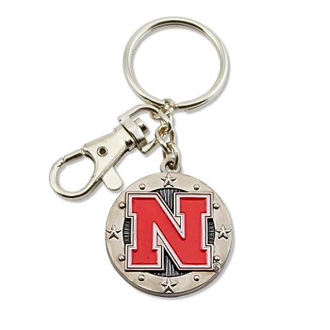 NCAA Nebraska Cornhuskers Auswirkungen Schlüsselanhänger, Nebraska Cornhuskers