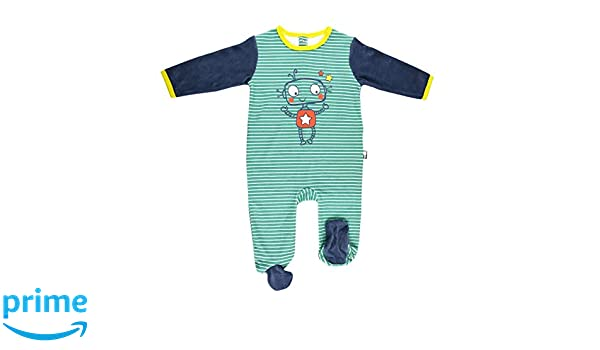 3f4f58a0c8860 Pyjama bébé velours Illico - Taille - 3 mois (62 cm)  Amazon.fr  Bébés    Puériculture