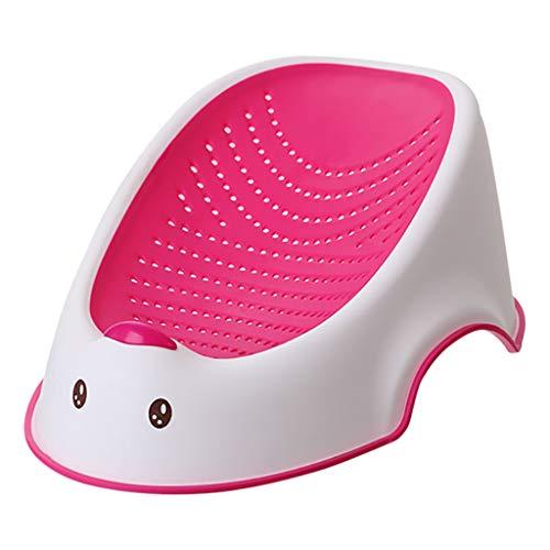 HUYP Babywanne Sitzbadewanne Neugeborenen-Bad-Netz Baby-Dusche-Bad-Bett-Baby-Bad Und Stand 0-6 Monate (Color : Pink) - Bett 2 Bad