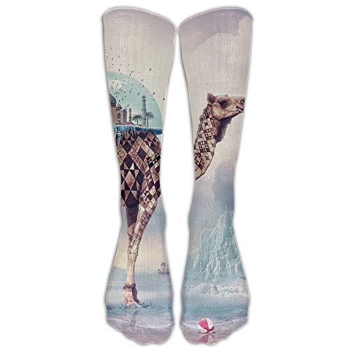 dacf0cd555 vintage cap Magical Landscape Athletic Tube Stockings Women Men Classics  Knee High Socks Sport Long Sock