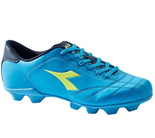 Diadora 6play Md, Chaussures de Football Homme Bleu (Blu Fluo/giallo Fluo)