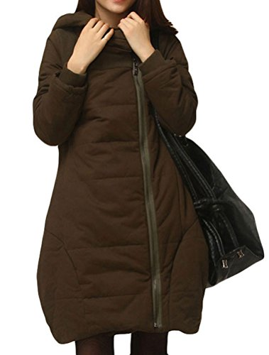 MatchLife -  Cappotto  - Donna Style3-Armee Kaffee