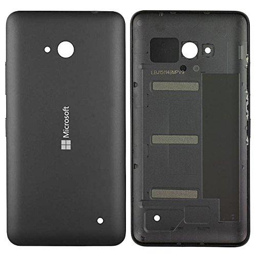 Original Microsoft Akkudeckel black / schwarz für Microsoft Lumia 640 (Akkufachdeckel, Batterieabdeckung, Rückseite, Back-Cover) - 02509T5