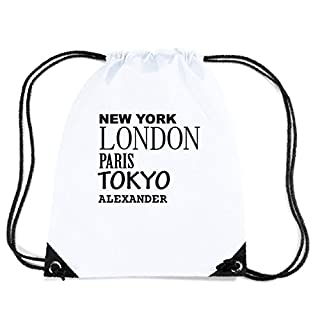 JOllify Alexander Turnbeutel Tasche GYM5096 – Design: New York, London, Paris, Tokyo