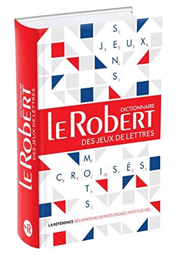 Le Robert des jeux de lettres - Dictionnaire de mots croisés, mots fléchés - Grand format