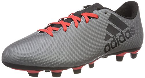 adidas Herren X 17.4 Fxg Fußballschuhe Grau (Grey/core Black/real Coral S18 Grey/core Black/real Coral S18)