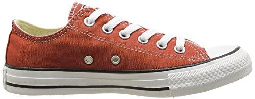 CONVERSE Chuck Taylor All Star Seasonal Ox, Unisex-Erwachsene Sneakers Orange (Orange)