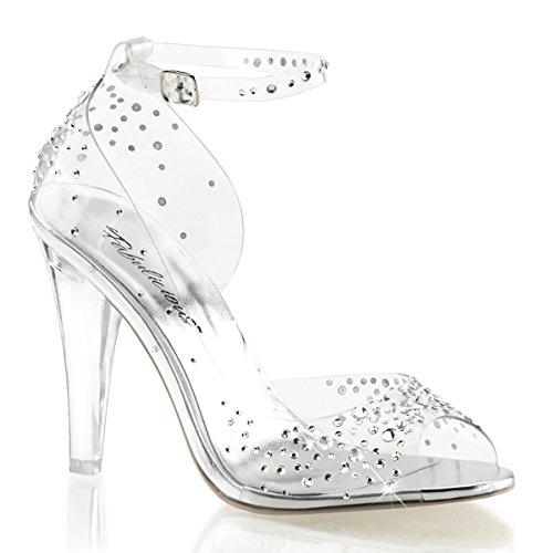 High heels femme-transparent (transparent) Transparent - Transparent (klar)