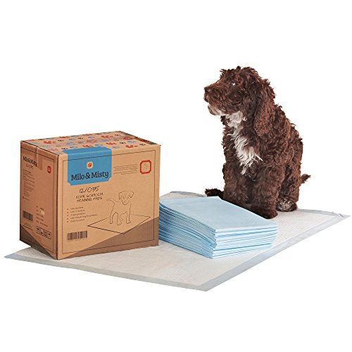 Milo & Misty Puppy Dog Training Pads with 5 Layer Super-Absorvent Protection Packs