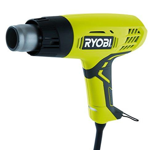 Ryobi 5133001137 Heißluftgebläse Typ EHG2000, 2000 W, Schwarz, Grün