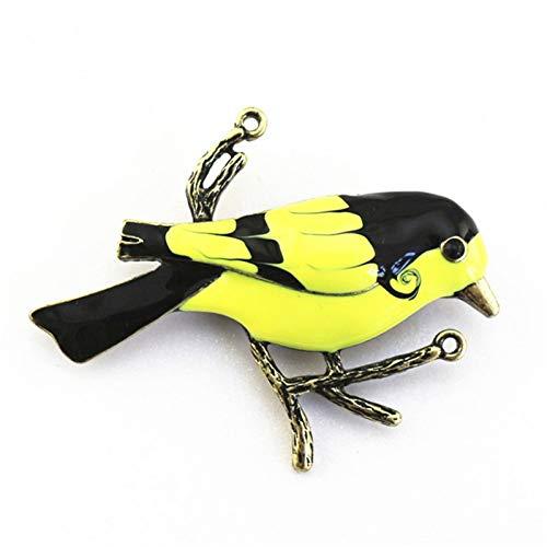 Kostüm Liste T - LSTDD Brosche Retro Gold Tier Vogel Kostüm Zubehör Kragen Nadel