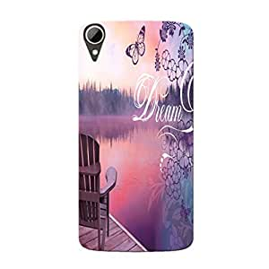 Mobi Elite Hard Printed Cover for HTC Desire 828