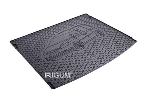 RIGUM Passgenaue Kofferraumwanne geeignet für VW Caddy 5-Sitzer ab 2005 passen ideal