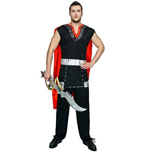 SEA HARE Seahare Erwachsene Männer ehrfürchtige römische Krieger Kostüm