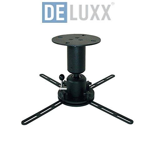 Deluxx 15299 Deckenhalter Profi-Line 15 cm schwarz/weiß