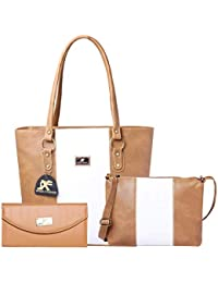 f84e9a7fe Speed X Fashion Women's Handbag And Sling Bag With Hand Clutch Combo Of 3  Pics (