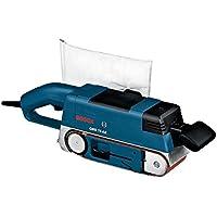 Bosch Professional 0601274765 GBS 75 AE Set Ponceuse à bande, 750 W, Bleu