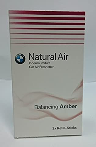 BMW Original Innenraumduft Refill Kit Natural Air Balancing Amber