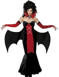Sexy Vampirkostüm Vampir Lady Frau Kostüm Kleid Gr. 36/38 (S), 40/42 (M), 44/46 (L), Größe:M