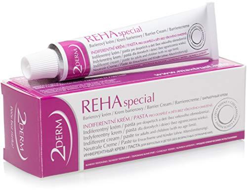 REHA Psoriasis und Neurodermitis Creme - Patentierte Heilende Haut Behandlung für alle Hauttypen - Wirksame Salbe zur Hautpflege bei Schuppenflechte, Ekzem, Ausschlag, Akne - Auch für Kinder geeignet - Ekzeme Salbe