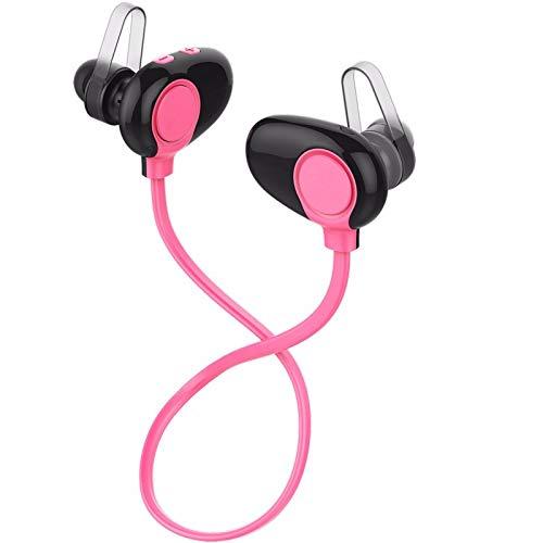 LRWEY Bluetooth-Headset, 4.4 Bluetooth-Headset-Kopfhörer Drahtloses Kopfhörer-Mikrofon Sportkopfhörer, für iPhone, iPad, Samsung, Huawei, Tablet usw
