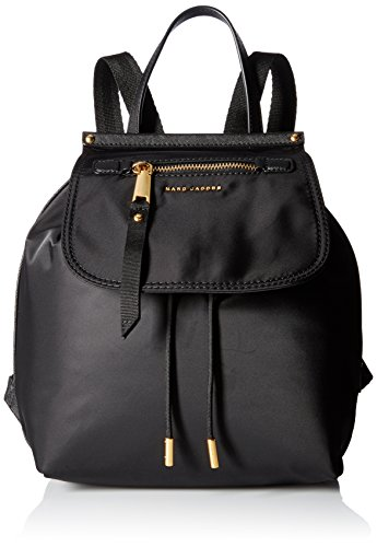 Marc Jacobs Trooper - Zaini Donna, Black, 14x30x25 cm (W x H L)