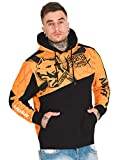 Amstaff Herren Hoodies Klixx orange 2XL