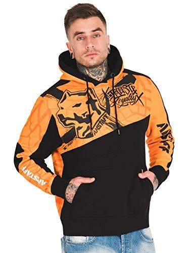 Amstaff Herren Hoodies Klixx orange M -