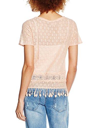 Vila Viallena, T-Shirt Femme Rose (Pink Sand)