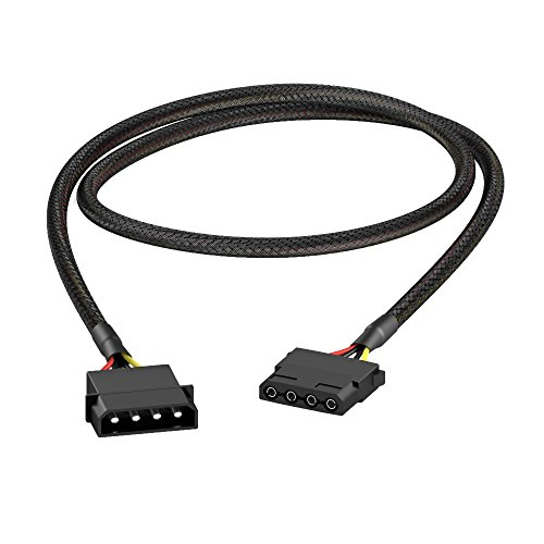 KabelDirekt 4-Pin Molex Verlängerungskabel 60 cm (60-pin-adapter-kabel)