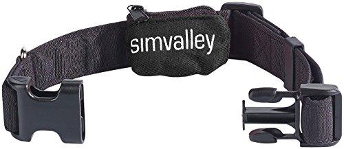 simvalley MOBILE Hundehalsband 20-40 cm für GPS-/GSM-Tracker GT-340