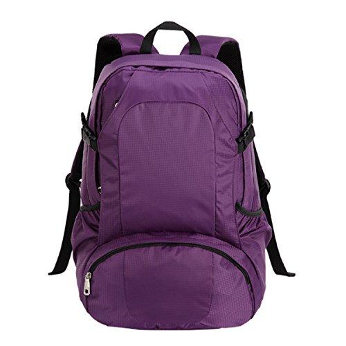 LAIDAYE Viaggio Di Piacere Sport All'aria Aperta Sacchetto Di Corsa Della Spalla Purple