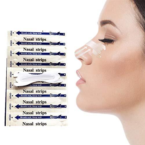 NOTE 400 teile/los Fatory Preis Anti Schnarchen Transparente Nasal Streifen Einfacher Atmen Stop Schnarchen Klar Nase Streifen 66x19mm