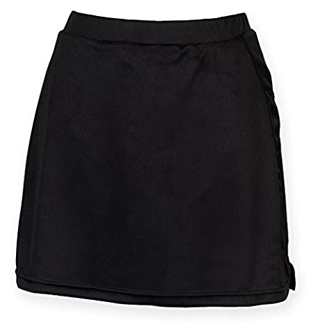 Finden Hales Womens Skort With Wicking Finish - Black, Navy or Red / XS-XL - Black - S