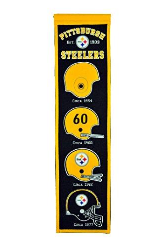 Winning Streak NFL Pittsburgh Steelers Heritage Banner