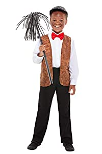 Smiffys 47739ML Chimney Sweep Kit para niños
