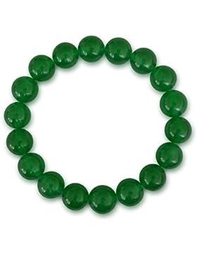 Jade Armband, Malaysia Jade, natürlich, grün, rund, 8mm