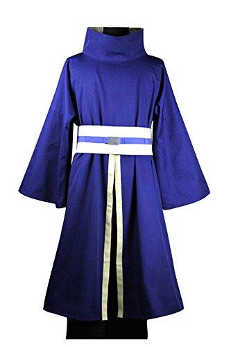 Naruto Akatsuki Ninja Tobi Obito Madara Uchiha Cosplay Kostüm (Ohne Mask) Herren (Tobi Kostüm Cosplay)