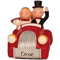 Spartopf Spardose Brautpaar im Auto, ca. 15,5 cm preisvergleich bei kinderzimmerdekopreise.eu