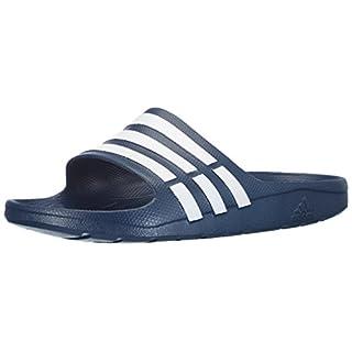 adidas Duramo Slide Adiletten, Unisex, Duramo Slide, navy/white