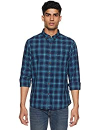 1c23730c86 Indian Terrain Men s Casual Shirts Online  Buy Indian Terrain Men s ...