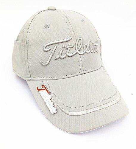 Titleist Casquette de golf gris Gris
