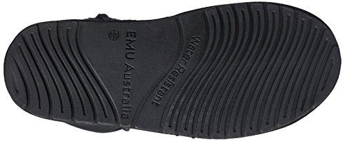 Emu Australia Stinger Hi, Boots femme Noir (Black)