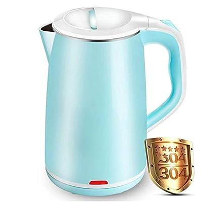 Ericdada Bouilloire électrique, Bouilloire à thé Cool Touch sans BPA en Acier Inoxydable de 1,8 L avec Protection Contre la surchauffe, Protection Contre Les surchauffes et la sécheresse à l'eau