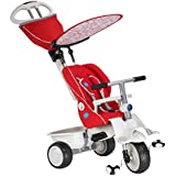 Smart-Trike Recliner 4-in-1 (Red)