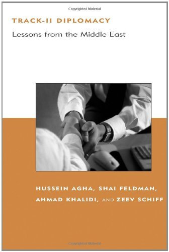 Track-II Diplomacy: Lessons from the Middle East (Belfer Center Studies in International Security) (English Edition)