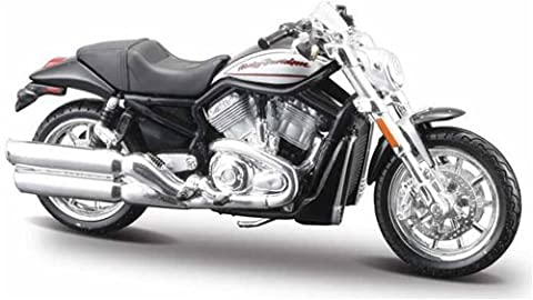 Harley Davidson 2006 VRSCR Street Rod Diecast Metal Model Motorbike Kit By Maisto 1:18 Scale