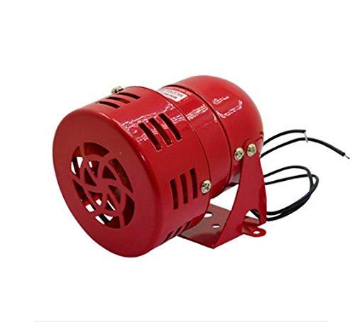 BAOSHISHAN Air Raid Siren Alarm Sirene Mini-Motor aus Metall Sirene Signalhorn Notfall-Alarm 220 V