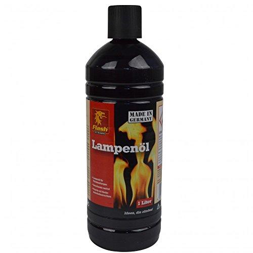 Lampenöl 1l farblos Fackelöl Öllampe Garten Fackel Öl Brennstoff