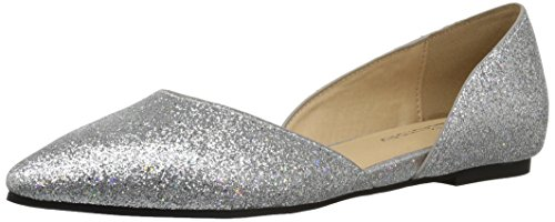 CL by Chinese Laundry Women's Hearty Pointed Toe Flat, Black/Grey